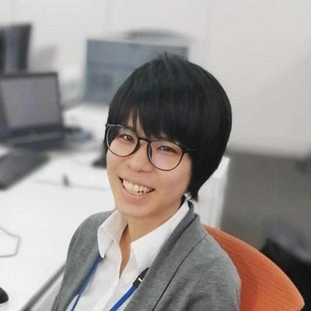 第一システム事業部 開発二部 H・U (2019年入社)