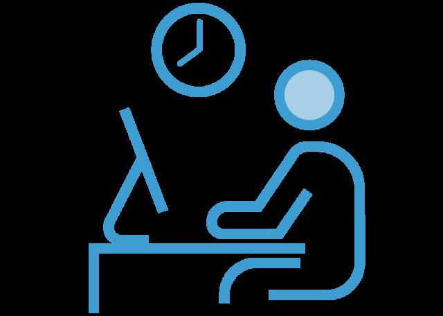 月平均残業時間