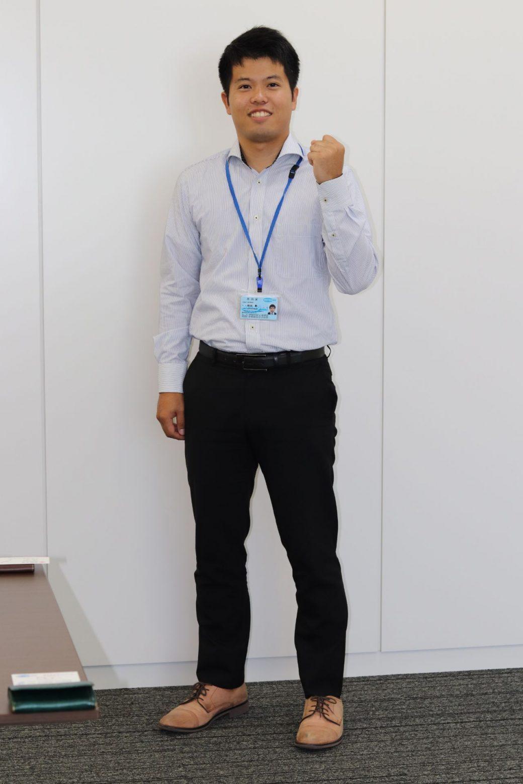 第一システム事業部 開発一部 K・N(2019年入社)